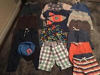 Boys Summer Shorts Bundle 18-24 month