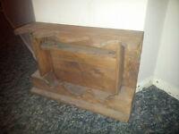 Pallet Wood Spice Rack
