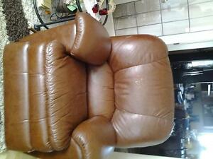 recliner, leather