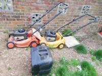 , lawnmowers