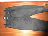 Mens armoured motorcycle trousers