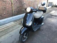 PIAGGIO VESPA LX 125cc ie black 2010 excellent runner hpi clear!!