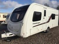 2013 swift challenger 570 fixed bed