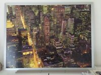 Large Picture of Nighttime City Scape