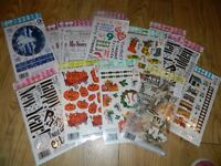 craft rub on stickers card making and more