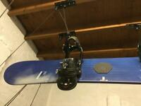 Snowboard Salomon withBurton bindings