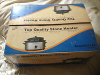 top quality stone heater in box,