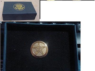 Presidential secret service lapel pin  - no signature