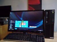 Lenovo Pc / Windows 10 Pro64 Bit /Hd' Grapichs