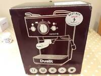 Dualite coffee machine