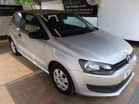 Volkswagen Polo 1.2 ( 60ps ) 2012MY S in silver FINANCE + WARRANTY + FULL DEALER SERVICE HISTORY