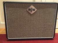 TOP QUALITY MJW 2x10 SPEAKER CAB; CELESTION G10L-35; open / closed; g12m greenback tone
