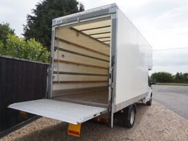 VAN HIRE HOUSE OFFICE MOVING BIKE MOVER PIANO DELIVERY RUBBISH CLEARANCE LUTON MAN REMOVAL