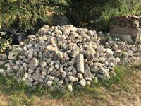 Kentish Rag Stones - 3 Tonnes approx