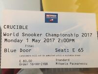 Snooker World Championship final TODAY - afternoon session