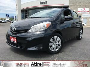 2012 Toyota Yaris LE. Keyless, Cruise Control, Air Conditioning