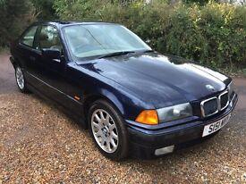 BMW 323i Coupe Automatic E36 1998, FSH