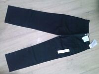 Boys trousers, black, never worn, for 7-8 year old