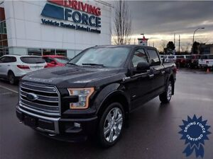 2016 Ford F-150 Limited 5 Passenger SuperCrew - 16,850 KMs