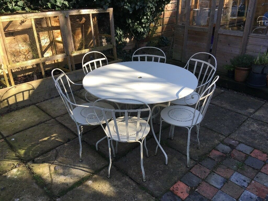 Fermob Table And 6 Chairs In Pembury Kent Gumtree