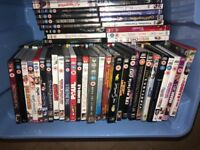Bundle of 84 DVD's rated U-18