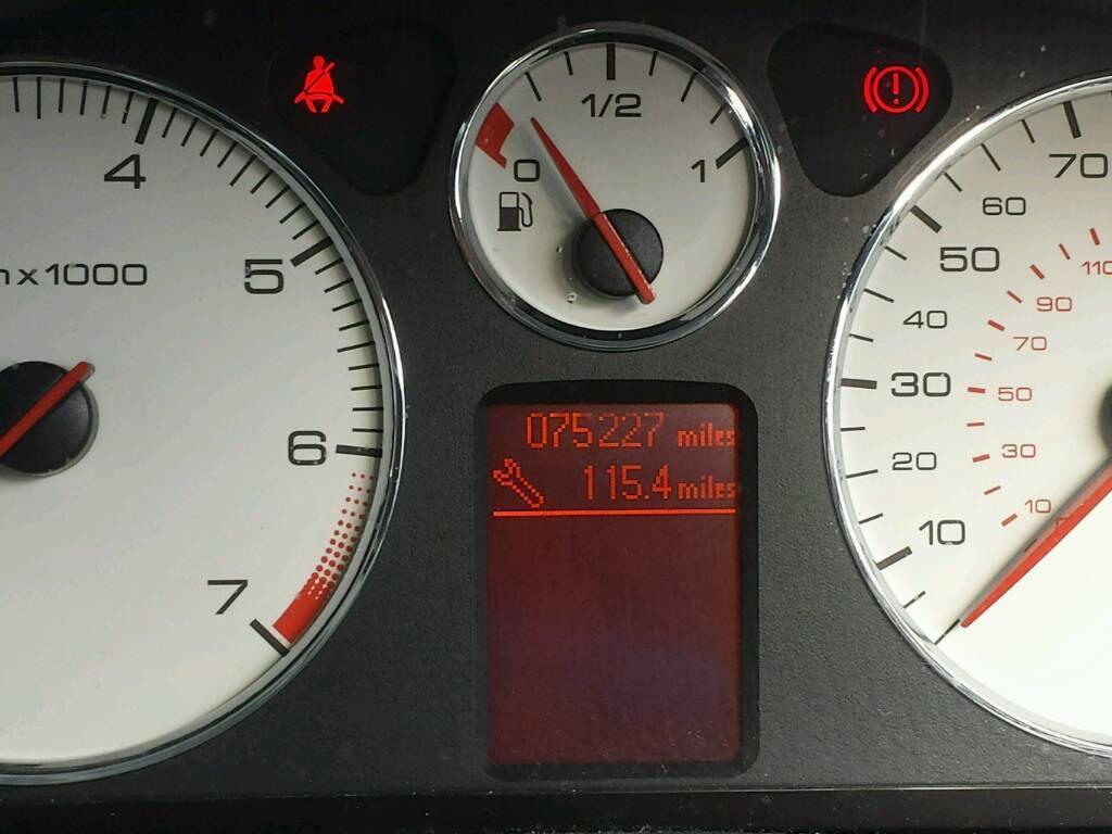 Peugeot 407 SE (won't start)