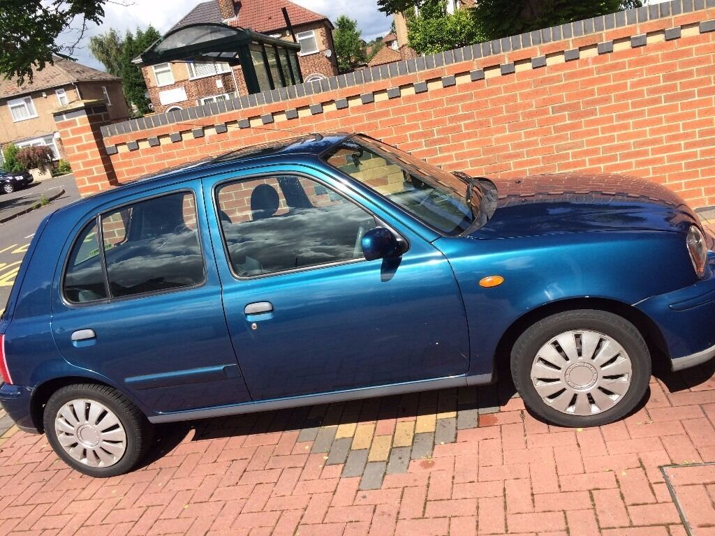great value nissan micra for sale 1 litre 5 doors 2002. Black Bedroom Furniture Sets. Home Design Ideas