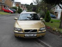 VOLVO S 60 SE 2 LITRE T FAMILY OWNED TOP SPEC FULLY LOADED UNWANTED PART EXCHANGE