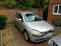 Vauxhall corsa 1.2 sxi for spares or repair