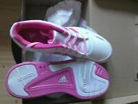 Adidas performance trainer UK 5 1/2 pink n white