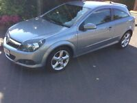 2008 58reg Astra 1.7 CDTi 16v SRi 3 door Grey 94,400 miles FSH MOT Alloys AirCon CD HPiClear £2395