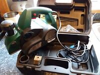 Parkside Electric Planer and case