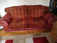 3 seater sofa plus 2 single chairs