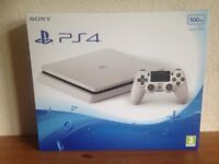 ps4 slim 500gb white with fifa18 brand new boxed