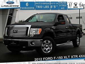 2012 Ford F-150 XLT XTR 4X4**6 PLACES*CRUISE*A/C*GR. ÉLECTRIQUE*