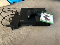Xbox one console and game