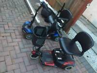 2 x mobility scooter & Stairlift