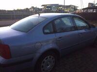 Blue Passat, excellent condition, real bargain.
