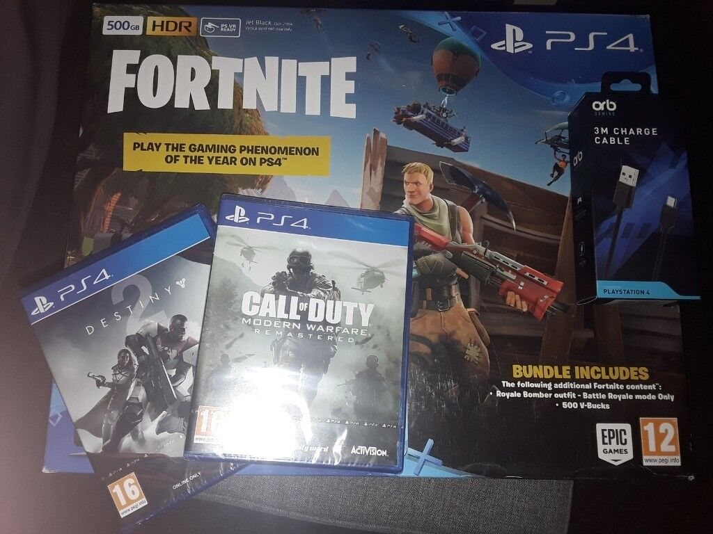 Brand New Playstation4 500gb With Fortnite Gifts In Fishponds