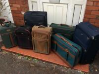 Selection of suitcases