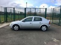 2004 Vauxhall Astra 1.6, Automatic, 5 Doors, Silver, 85K, Full History