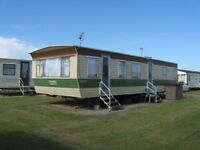 Holiday Caravan to Hire 5-7 berth, Spacious 35 x 12ft, East Yorkshire coast Withernsea nr Hornsea