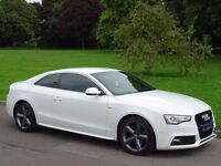 2012 Audi A5 1.8 TFSI S Line 2dr Coupe - FULL BLACK LEATHER - PRIVACY GLASS