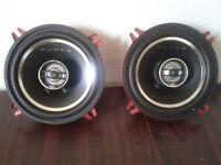 Rockford Fosgate Punch P152C 2-Way Full Range Speakers 80 Watts