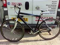 Hybrid mountain bike large frame