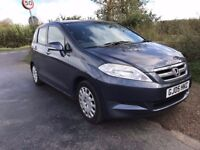 2006 Honda FR-V, 12 months MOT, FSH, car drive's like new.