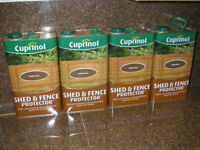 Cuprinol Shed & Fence Protector - GOLDEN Brown - 5 Litres 5L Can / Tin