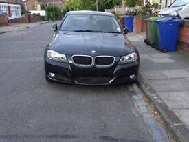 2010 BMW 320D 4DOOR SALOON BLACK MANUAL