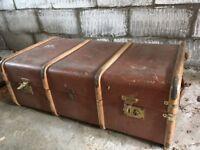 Vintage Trunk & Suitcase