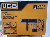 Brand New JCB 920 W Corded SDS Plus Hammer Drill......
